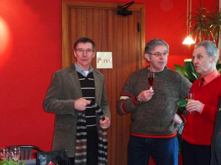 Maurice, Jean-Marie et Pierrot