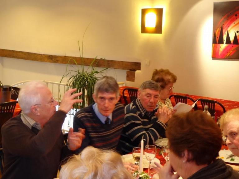 André, Guy, Roger et Agathe