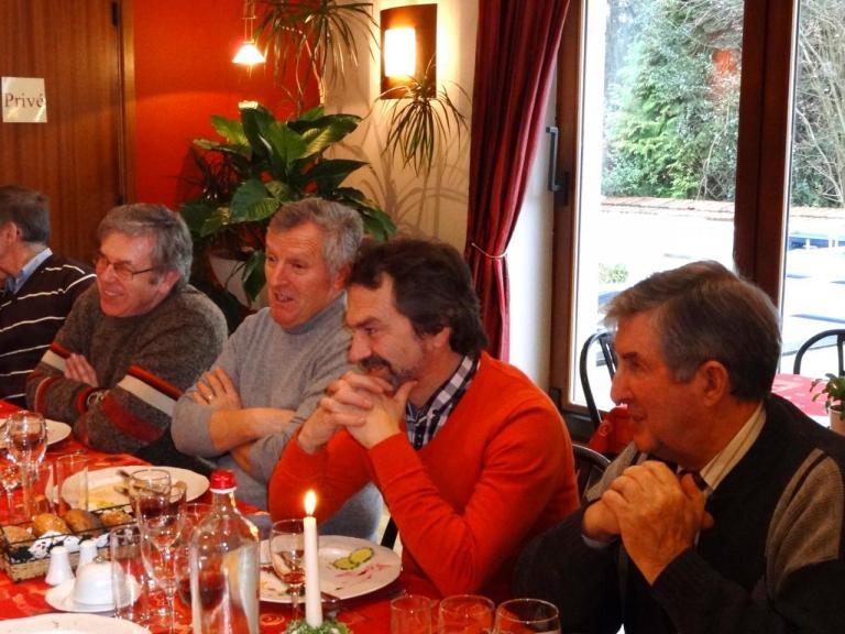 Jean-Marie, Bruno, Marcel et Robert