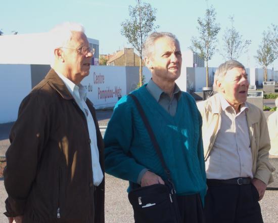 André, Pierrot et Roger