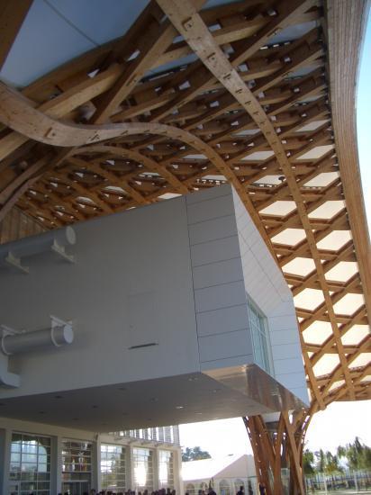 Quelle belle structure en bois