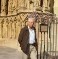 André devant la cathédrale St-Etienne